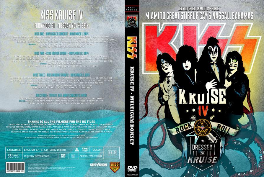KISS - Kruise IV Jeancover Desingn Multicam Boxset - Guitars101